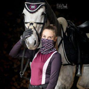 Loop Mit MS Equestrianwear Logo